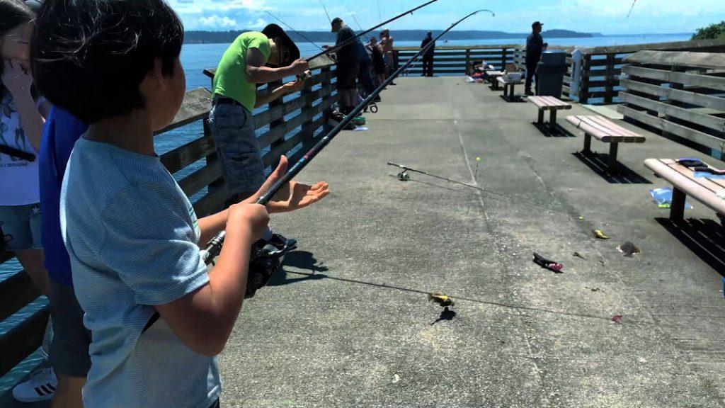 Fox Island pier