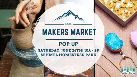PenMet Pop up Markers Market FB Event 5.6