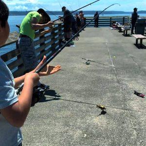 Fox Island pier #1 thumb