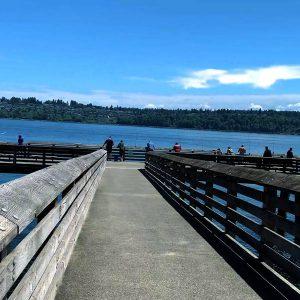 Fox Island pier #4 thumb